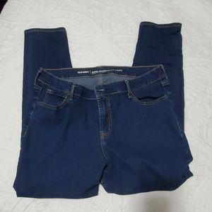 Old Navy super skinny jeans size 16